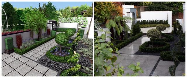 Our 3D graphic design simulation service - New English Living Garden Logo Design Garden Landscape on garden club logos, garden logos design, garden park logos, garden nursery logos,